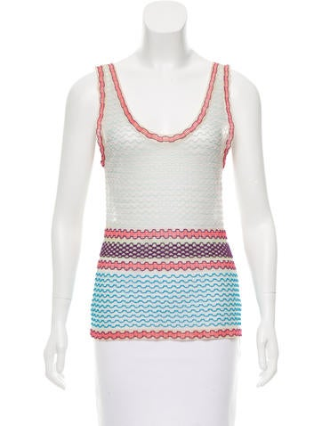 Missoni Patterned Sheer Top w/ Tags None