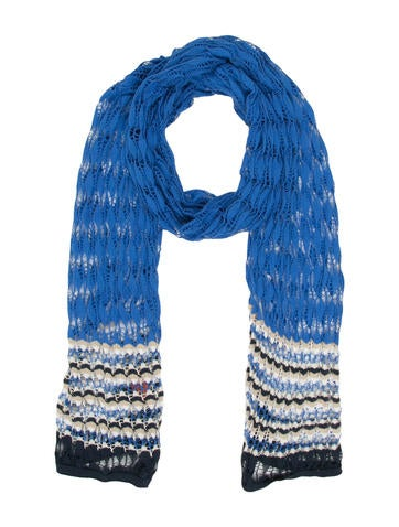 Missoni Open Knit Scarf None