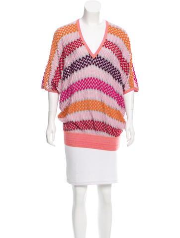 Missoni Patterned Wool Tunic None