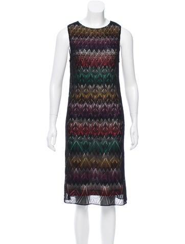 Missoni Chevron Open Knit Dress w/ Tags None
