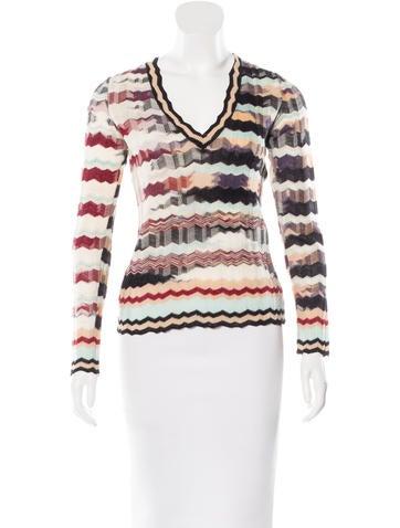 Missoni Wool Chevron Sweater None
