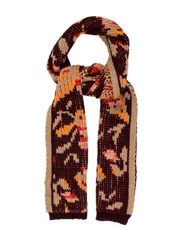 Missoni Knit Wool Scarf None
