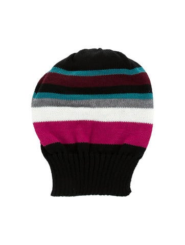 Missoni Girls' Multicolor Striped Beanie w/ Tags None