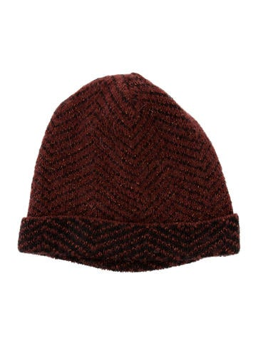 Missoni Patterned Beanie None