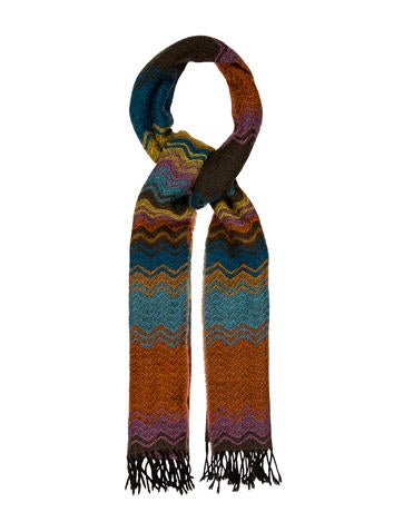 Missoni Wool Fringe Scarf None