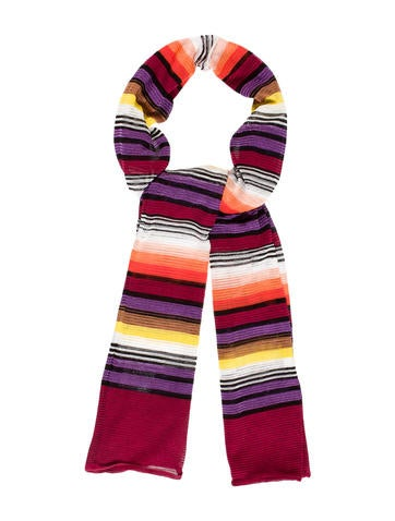 Missoni Multicolor Printed Scarf w/ Tags None