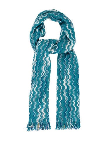 Missoni Wool Chevron Scarf w/ Tags None