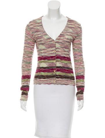 Missoni Wool Striped Cardigan None