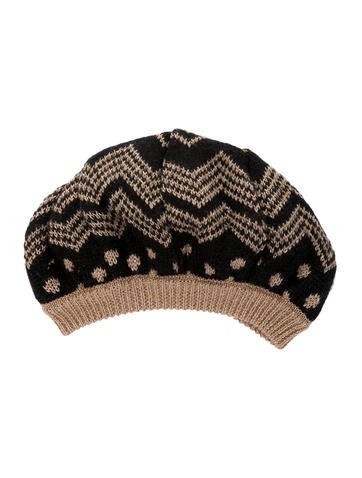 Missoni Wool & Mohair Knit Beret None