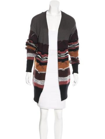 Missoni Striped Wool Cardigan None
