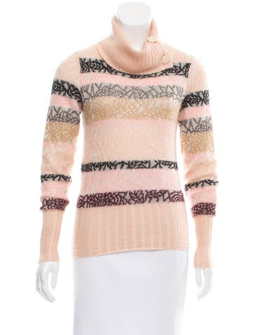 Missoni Mohair & Silk-Blend Pattered Sweater None