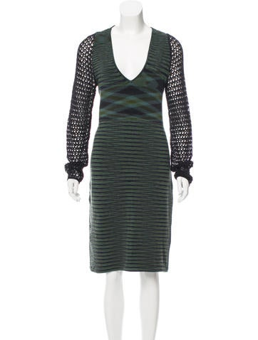 Missoni Patterned Wool Dress None