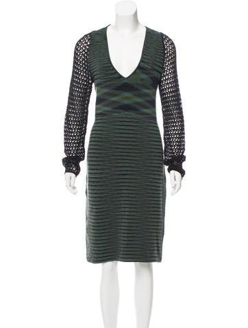 Missoni Patterned Wool Dress None