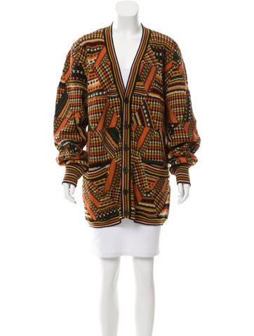 Missoni Abstract Knit Cardigan None