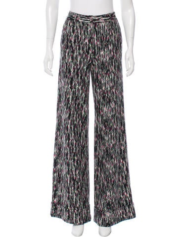 Missoni Fall 2016 Wide-Leg Pants