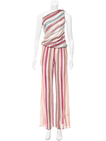 Missoni Striped Wide-Leg Jumpsuit