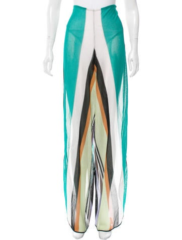 Missoni Striped Cover-Up Pants w/ Tags