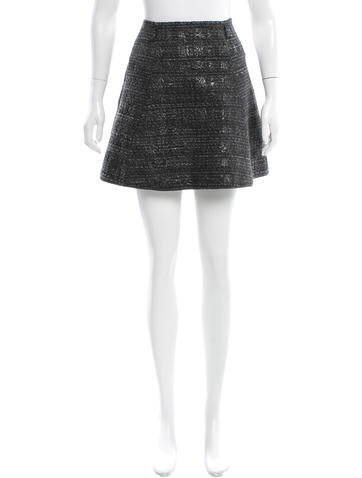 Missoni Metallic Tweed Skirt None