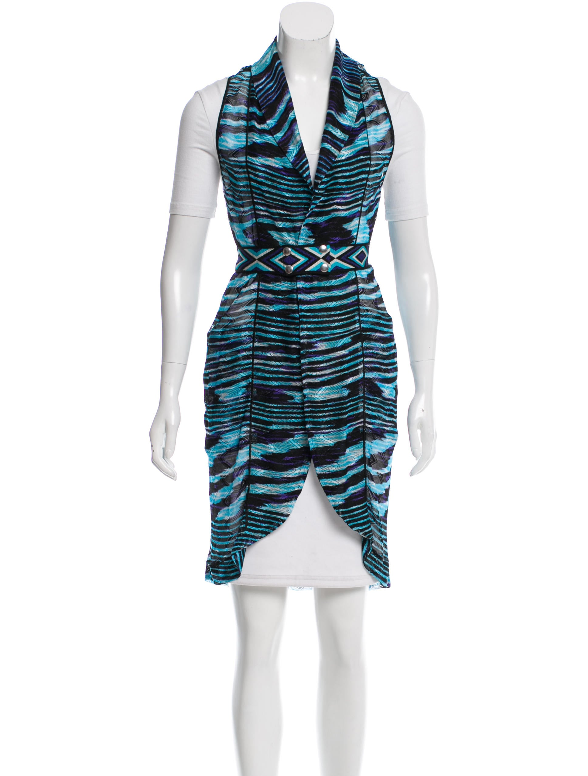 missoni hooded swim cover up clothing mis39558 the realreal. Black Bedroom Furniture Sets. Home Design Ideas