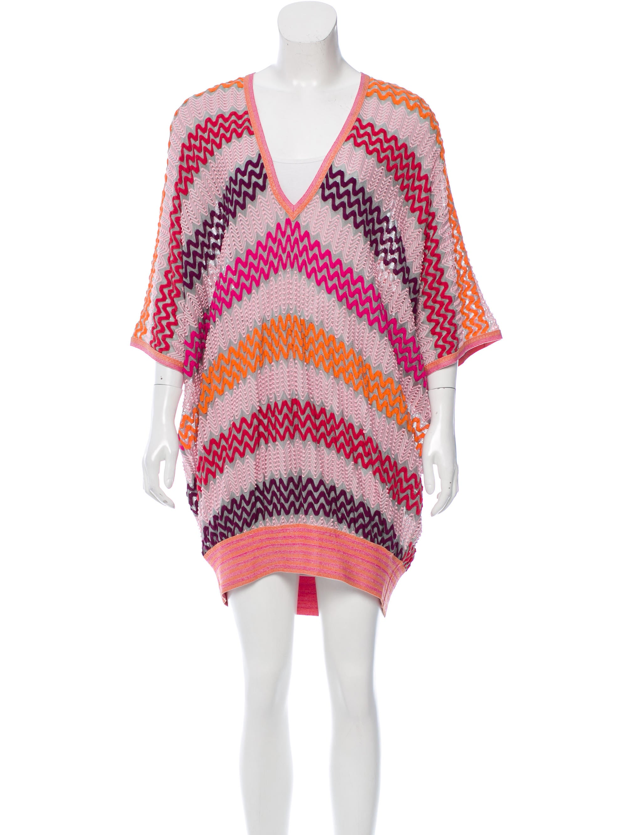 missoni oversize swim cover up w tags clothing mis39630 the realreal. Black Bedroom Furniture Sets. Home Design Ideas