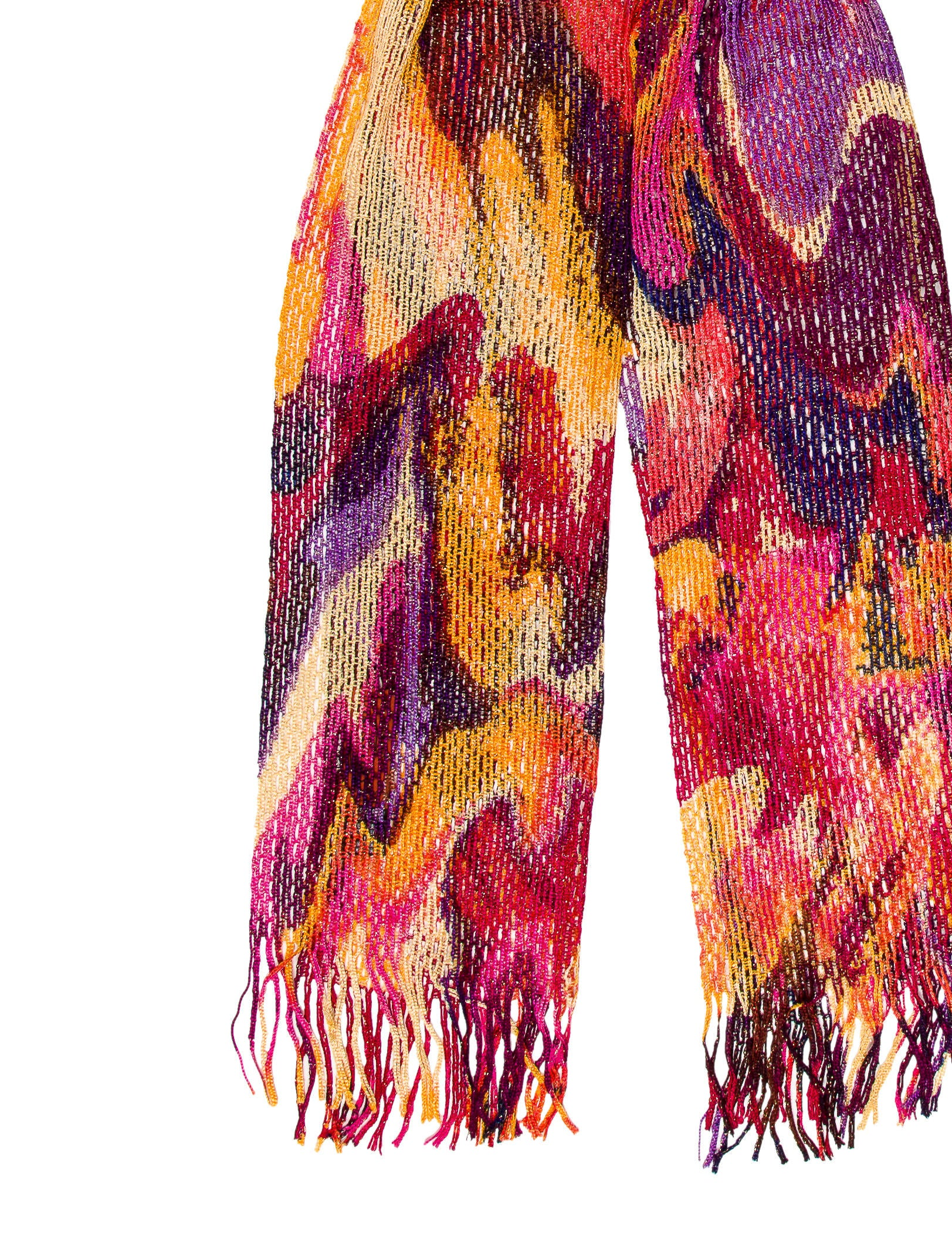 Open Knit Scarf Pattern : Missoni Open Knit Scarf - Accessories - MIS39798 The RealReal