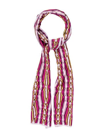 Missoni Abstract Knit Scarf None