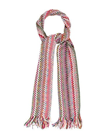 Missoni Wool Knit Scarf None