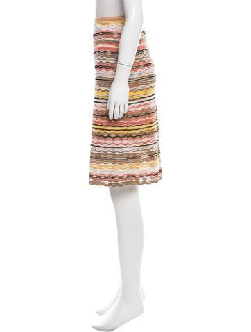 missoni chevron a line skirt clothing mis40324 the