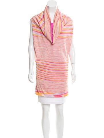 Missoni Striped Cowl Neck Tunic None
