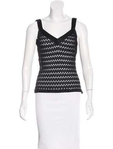 Missoni Knit Sleeveless Top None