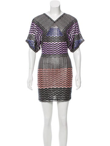 Missoni Metallic Mini Dress w/ Tags None