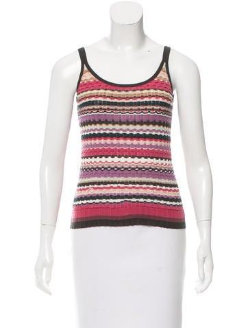Missoni Striped Wool Top None