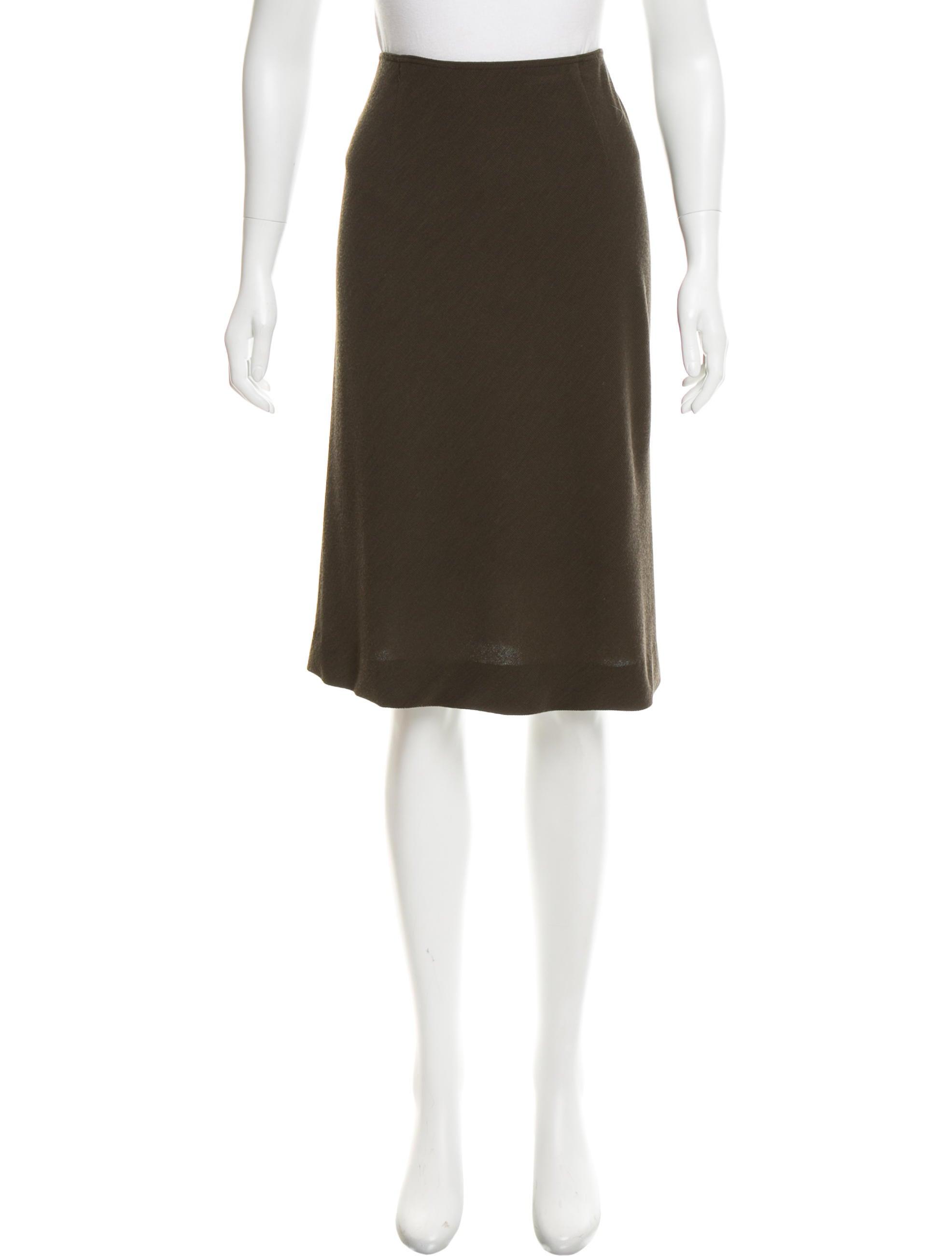missoni knit knee length skirt clothing mis41190 the