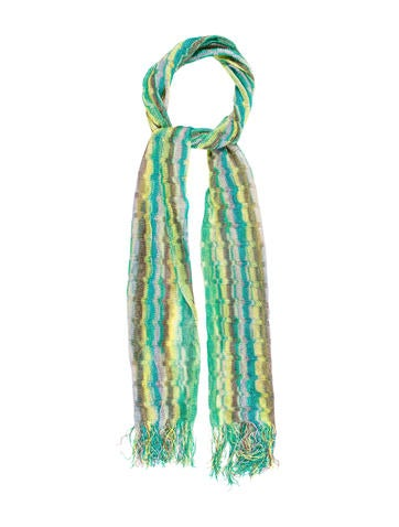 Missoni Striped Patterned Scarf None