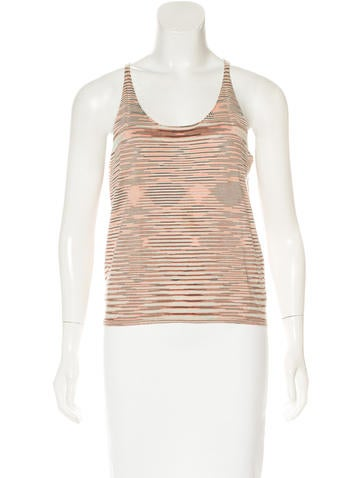 Missoni Cashmere Sleeveless Top None