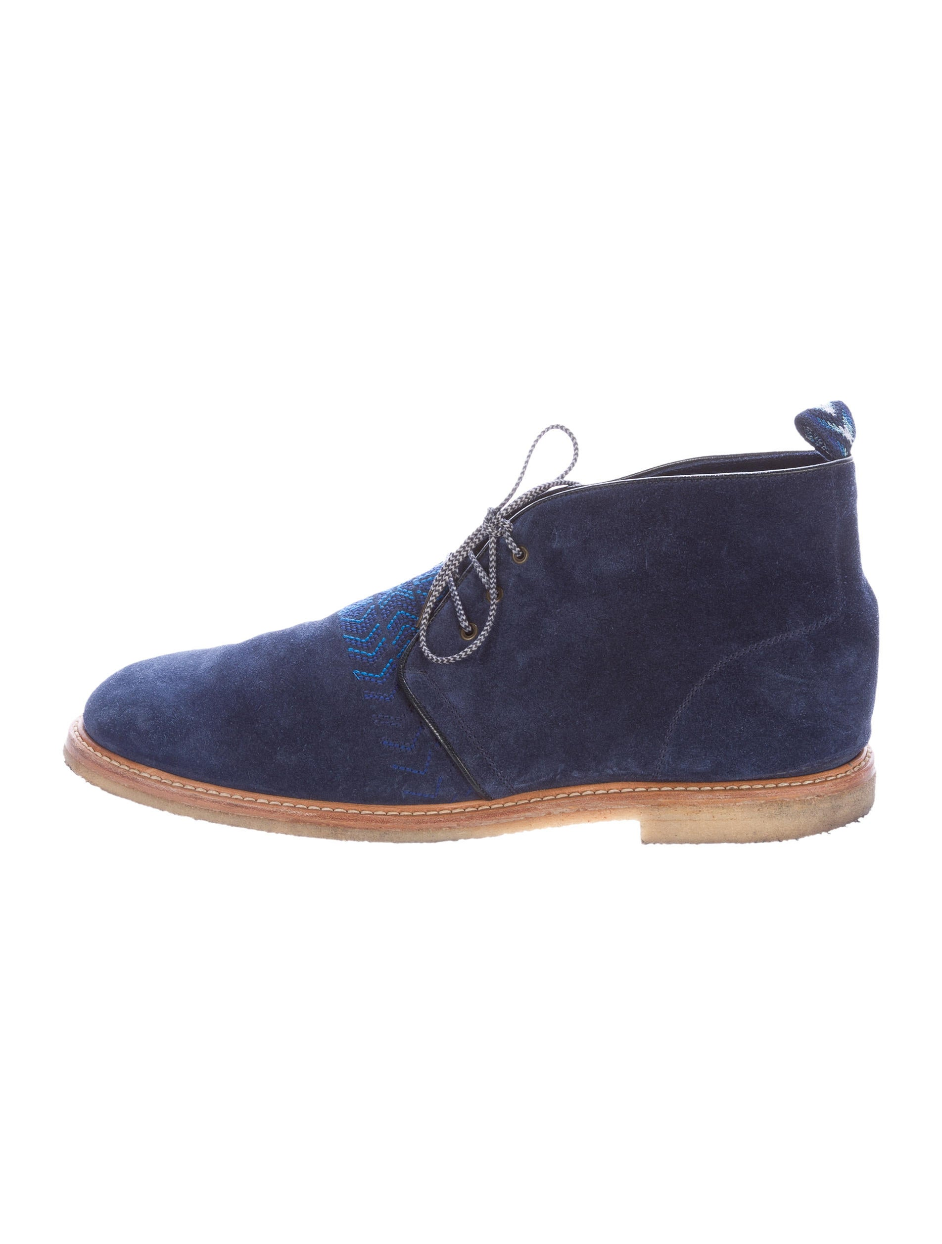 missoni suede desert boots shoes mis41577 the realreal
