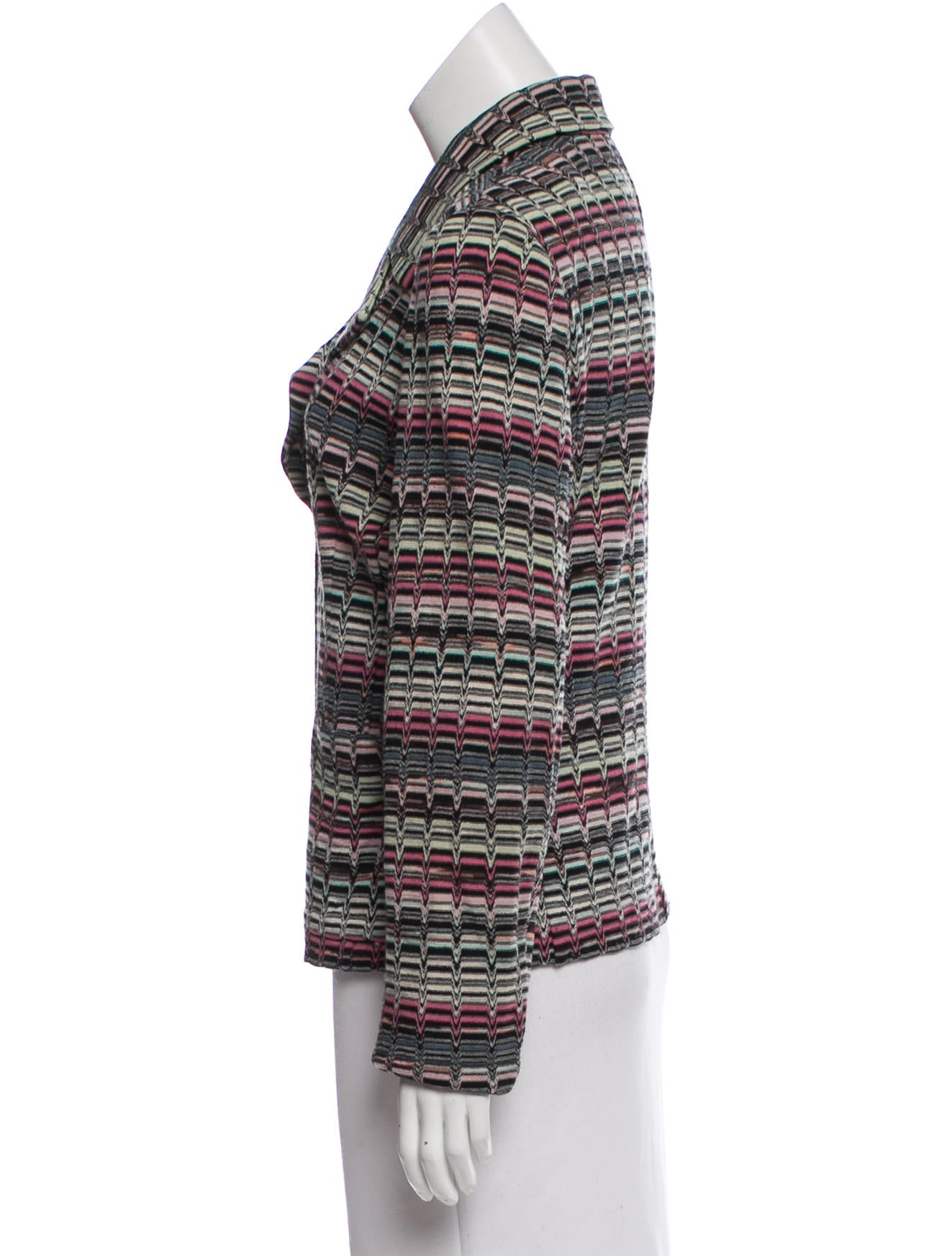 Missoni Pattern Knit Jacket - Clothing - MIS41815 The RealReal