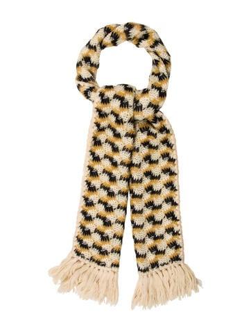 Missoni Wool Fringe Scarf None