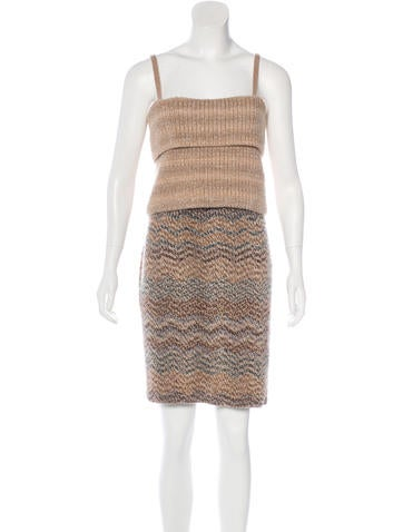 Missoni Knit Wool Dress None