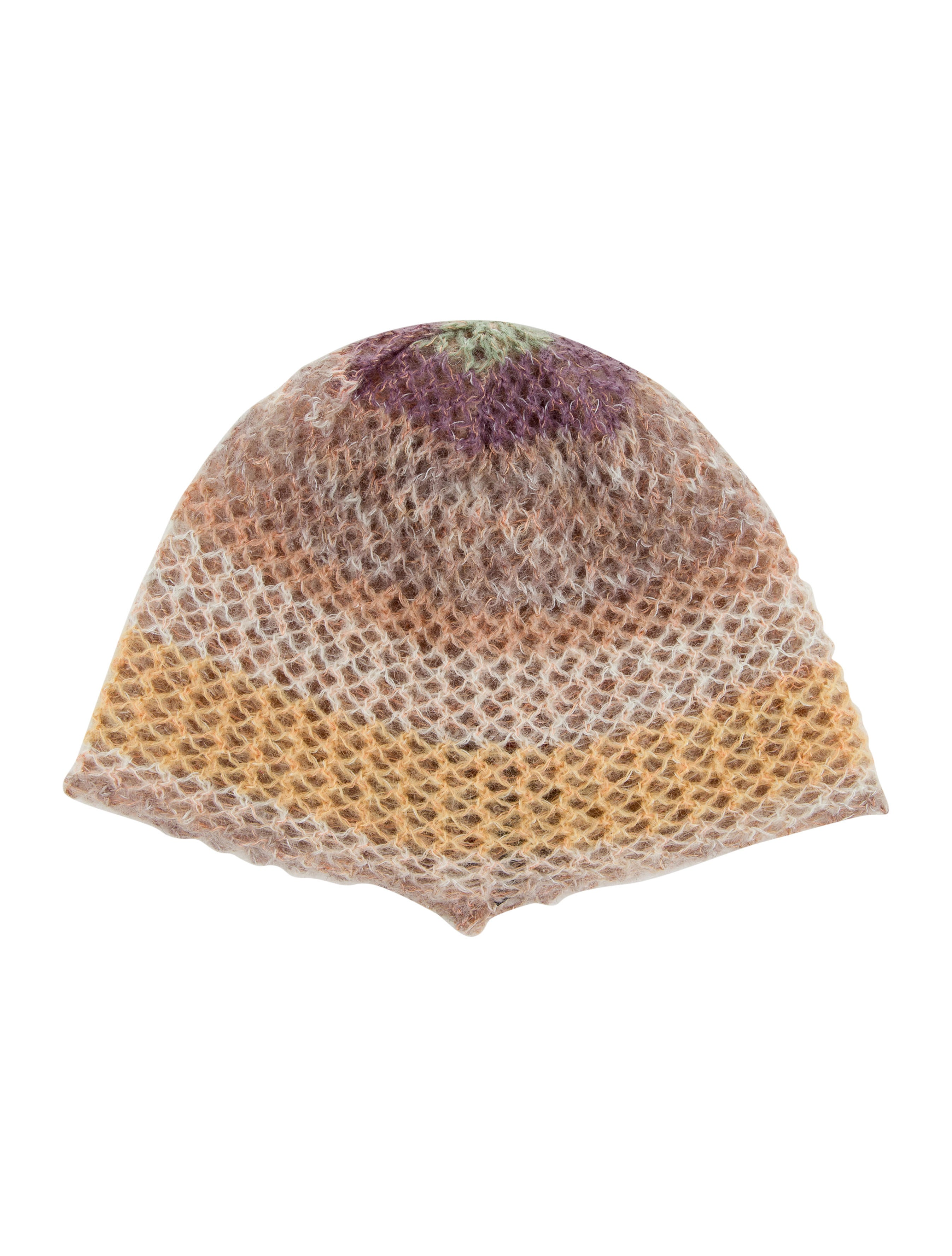 Missoni Open Knit Beanie - Accessories - MIS42551  11ec18c2d15