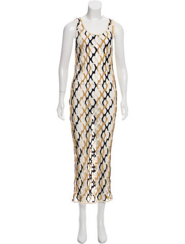 Missoni Cage Maxi Dress - Clothing - MIS42591 | The RealReal
