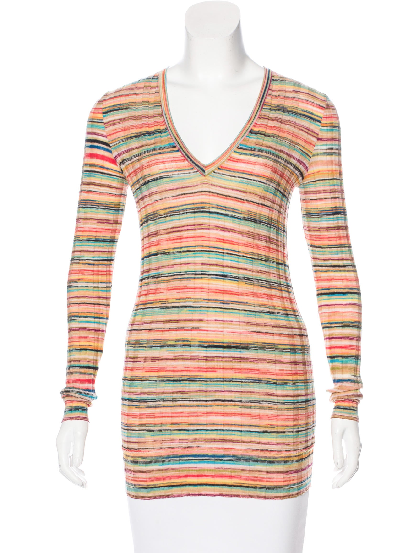 missoni patterned knit sweater clothing mis42592 the realreal. Black Bedroom Furniture Sets. Home Design Ideas
