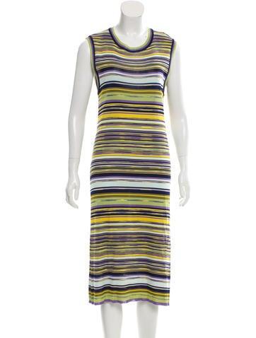 Missoni Striped Midi Dress None