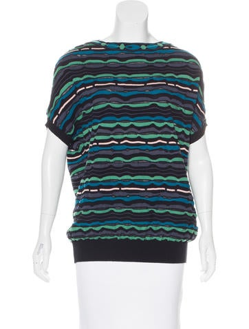 Missoni Knit Patterned Top None