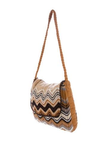 Missoni Intarsia Knit Shoulder Bag - Handbags