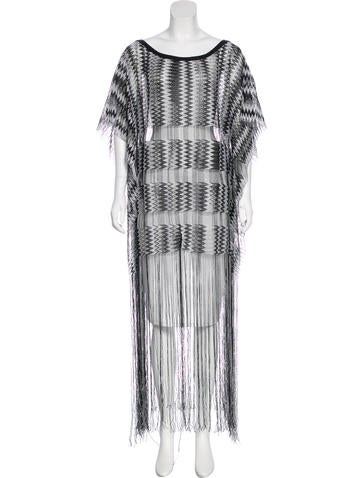 Missoni Fringe-Accented Knit Top None