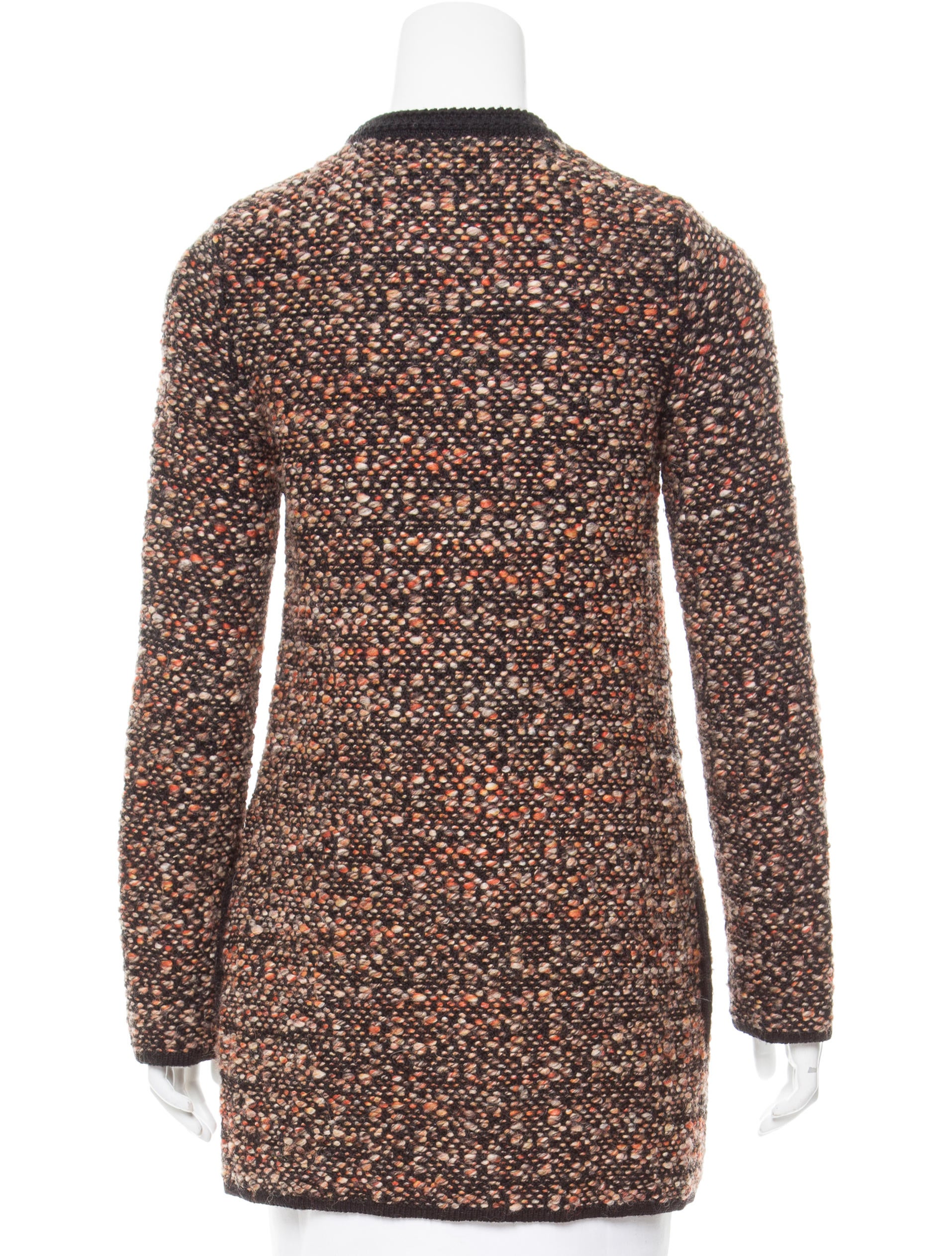 Missoni merino wool m lange cardigan clothing mis42916 for Merino wool shirt womens