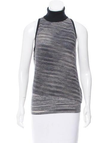 Missoni Sleeveless Turtleneck Sweater w/ Tags None