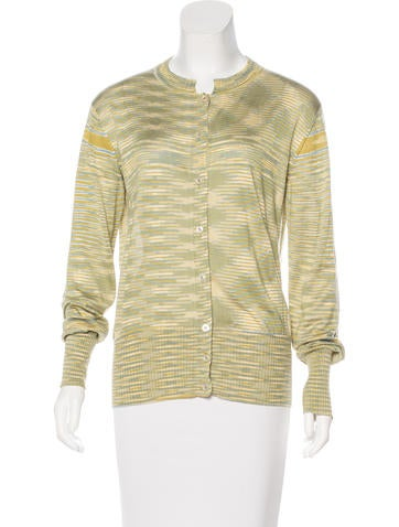Missoni Silk Knit Cardigan None