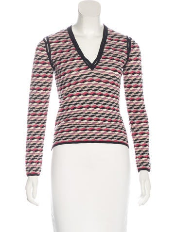Missoni Wool Patterned Sweater None